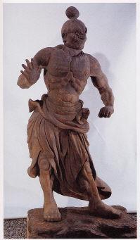 【県指定】木造金剛力士像 2軀