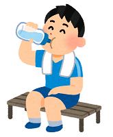 水分補給の画像