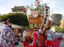 小倉祇園太鼓の写真1