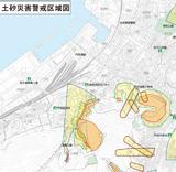 土砂災害警戒区域等マップ -